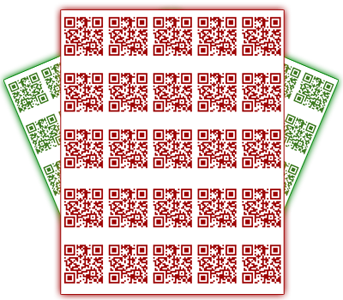 Every mobidoo web page comes with its own QR Code