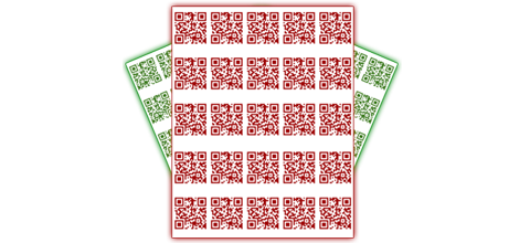 For a limited time we're giving you up to 650 QR Code labels when you sign up!