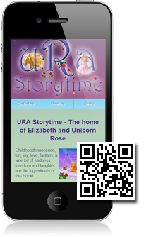 URA Storytime is using Mobidoo for their mobile website