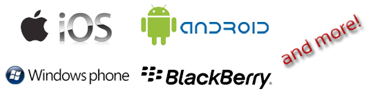 Mobidoo mobile supported manufacturers and operating systems